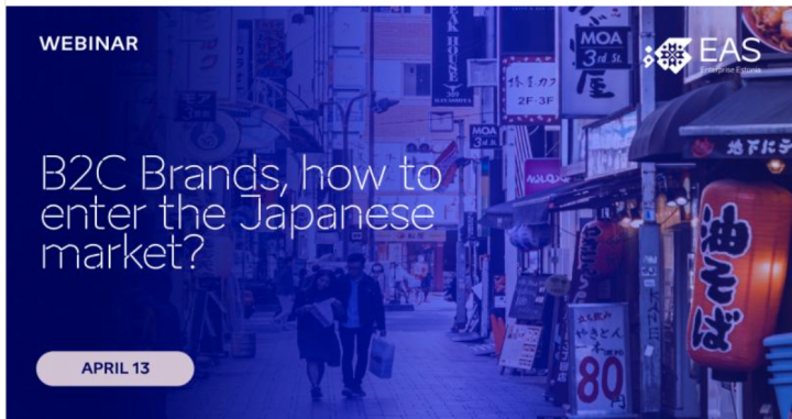 Have you thought of entering the Japanese market?