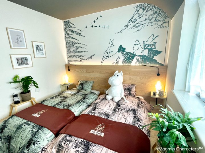 Monordi designs Moomin-themed hotel rooms in Japan